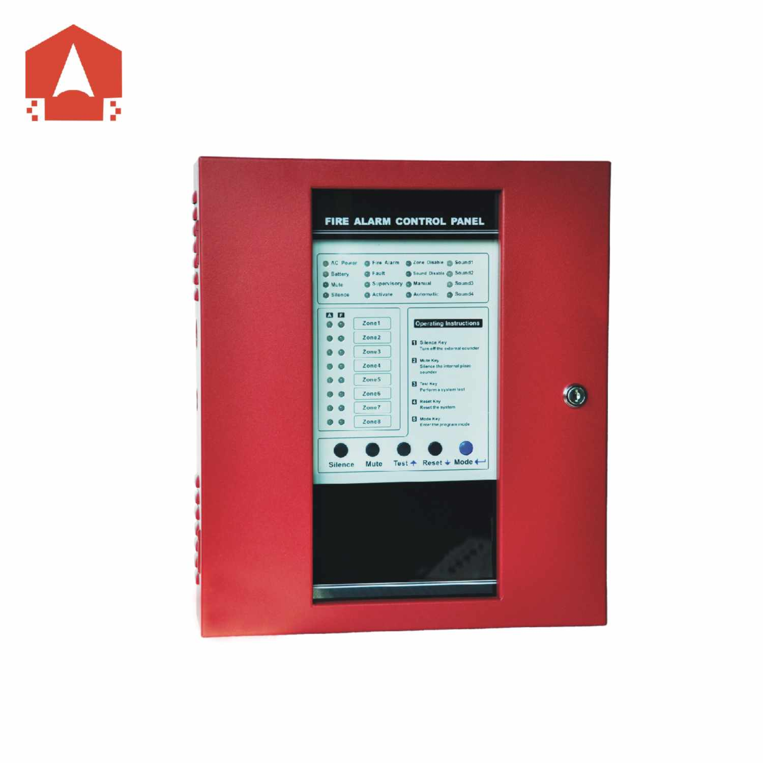 conventional fire alarm control panel ck1008
