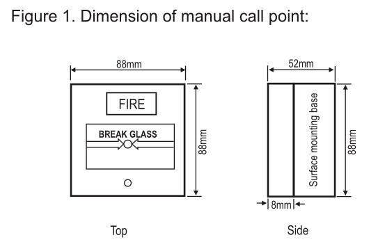 Manual Call Point Wiring Diagram Schematic Diagrams