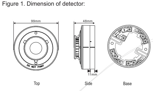 Conventional Smoke Detector:YT102C